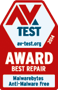 av-test.org awarded Malwarebytes Anti-Malware Free the Best Repair Award